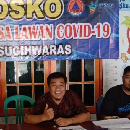 Posko Relawan Desa Lawan Covid-19