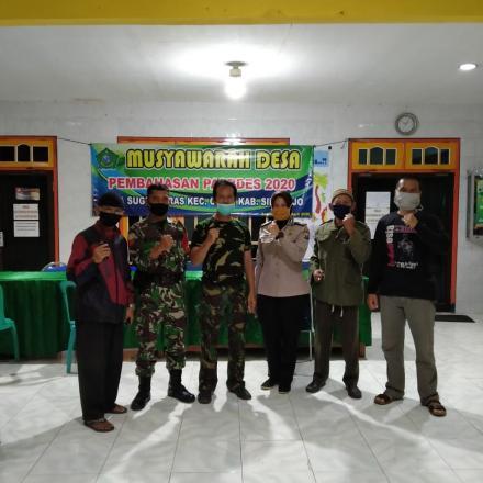 Desa Sugihwaras Bersatu Melawan Covid-19