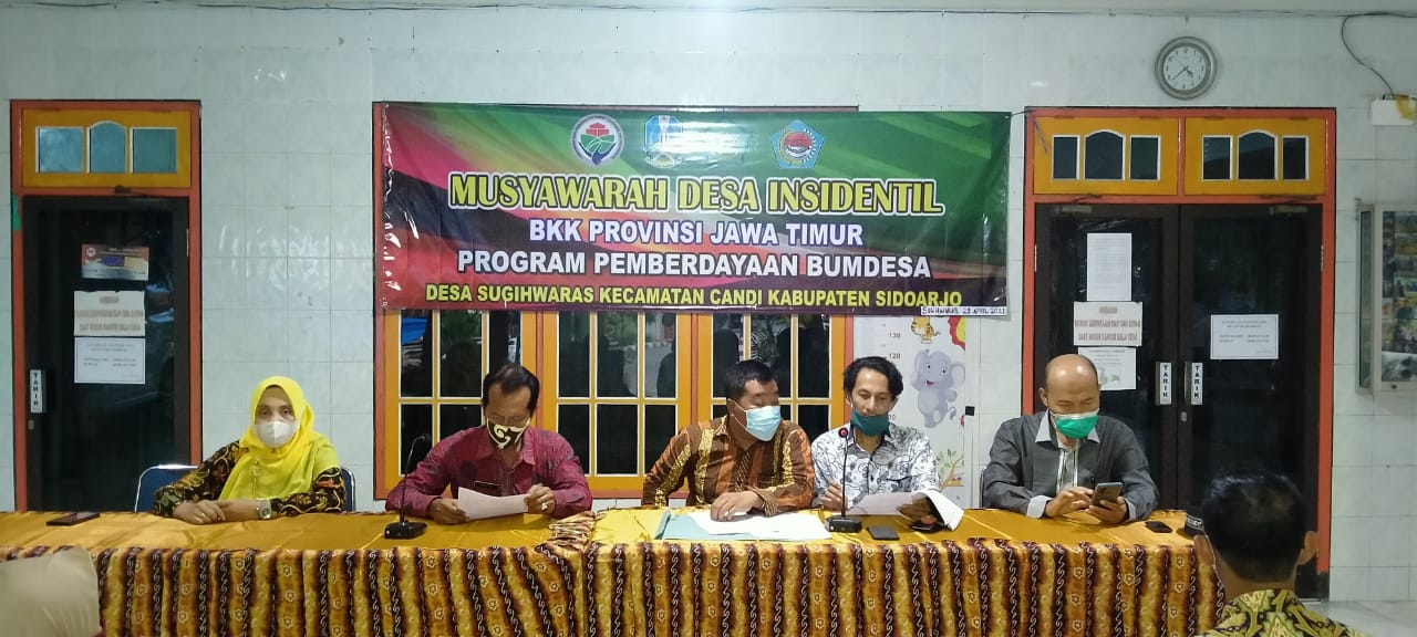Musdes Insidentil BKK Provinsi Jawa Timur